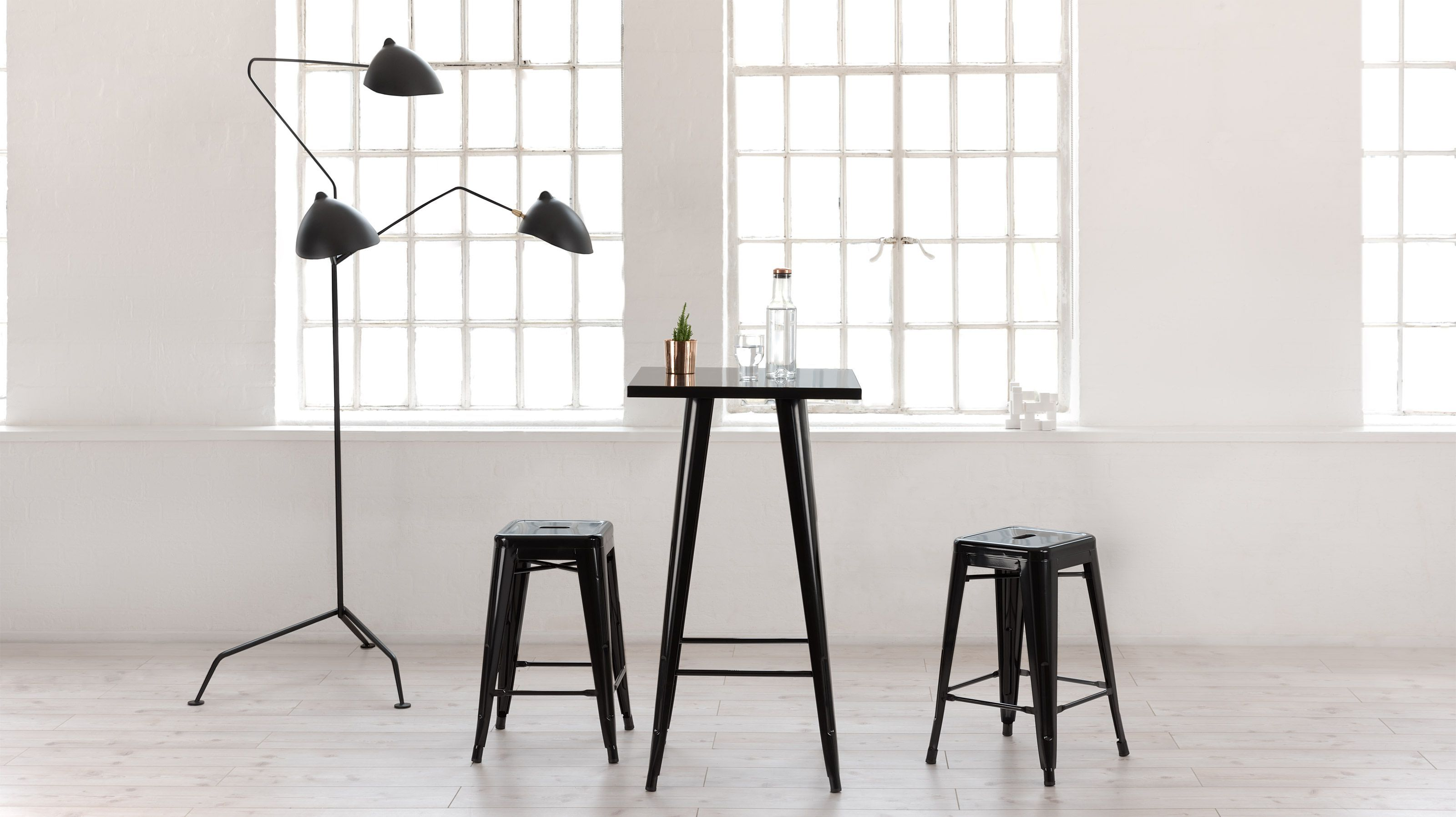vintage bistro stool chairs bar westwood tolix retro var pair chair itm metal dining