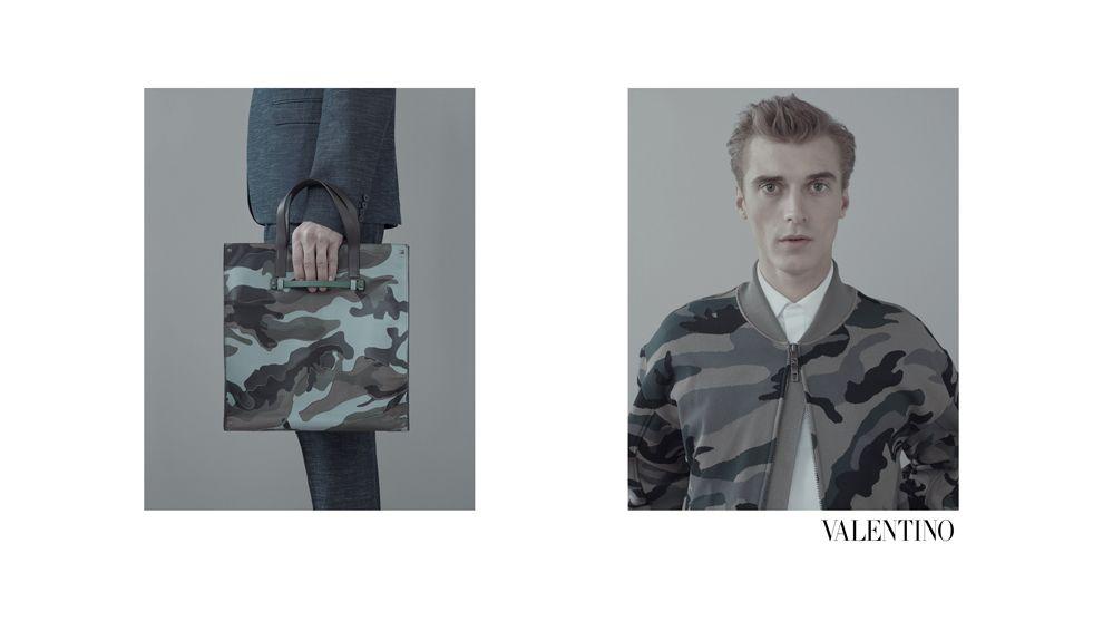valentino menswear ss13 ad campaign