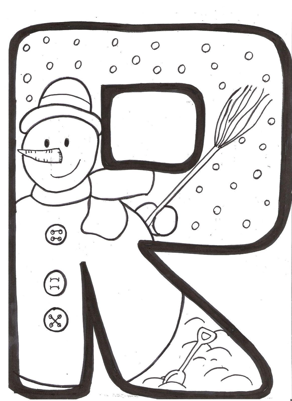 letras del invierno para imprimir   Buscar con Google | Cosas para