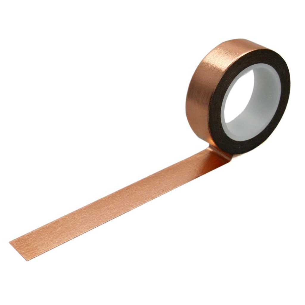 Silver Plain Washi Tape Craft Decorative Tape