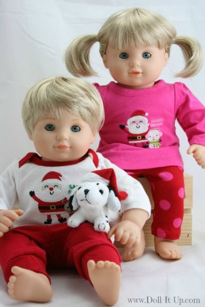 159041226 Baby Clothes for the Bitty Twin Dolls