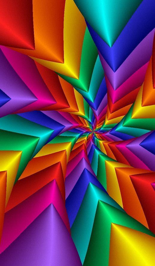 a3bf592fcd Policromático | varios en 2019 | Fondos arcoiris, Arte brito y Colores