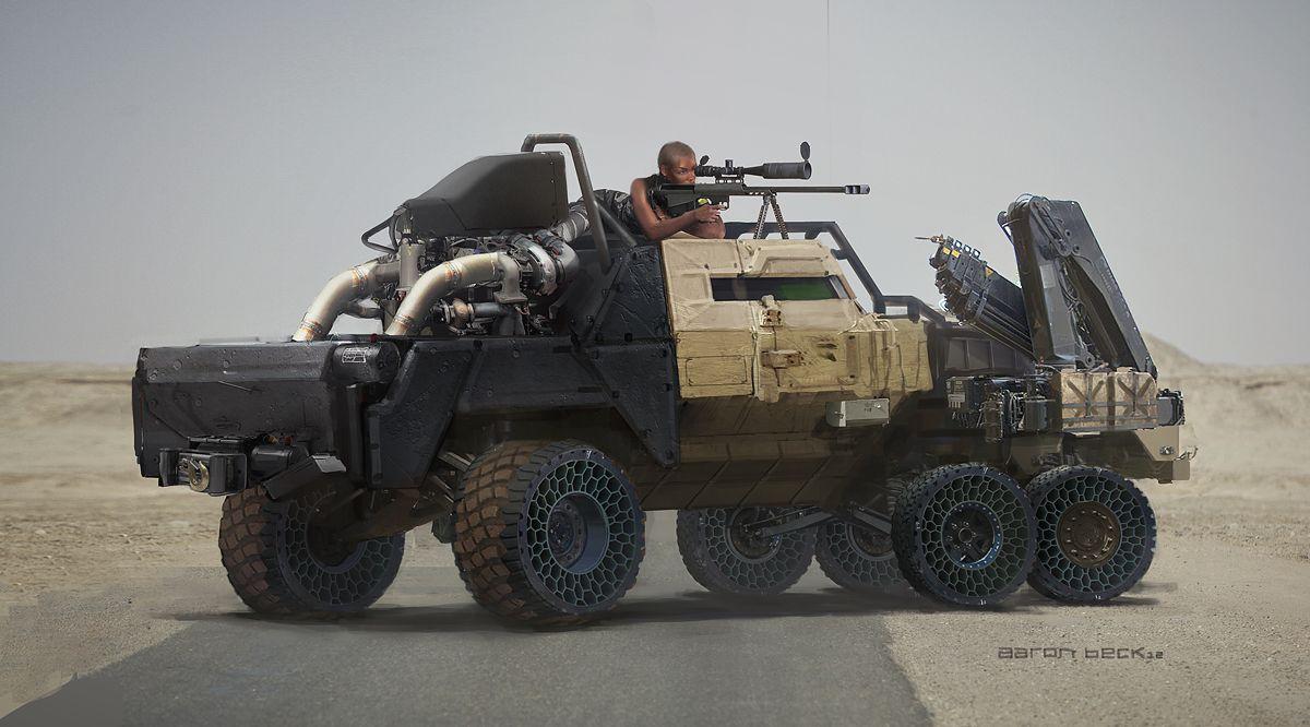 6x6 armored car concept - photo #7