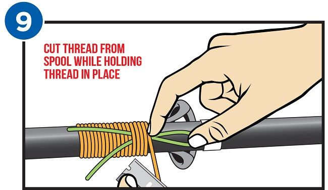 Wrapping Your Rod Guides Picture Illustration Mud Hole Blog Fly Fishing Line Fishing Tips Fly Fishing Tips