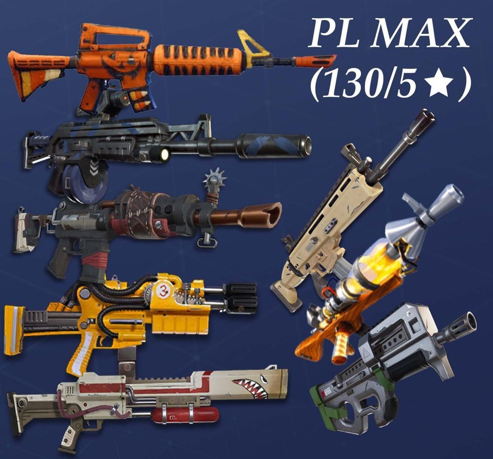 Fortnite Save The World Guns Weapons Lvl130  Buy 3 Get 1 Free Xbox