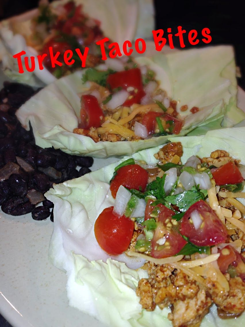 Lose weight FAST with these Turkey Taco Bites that are South Beach Phase 1 friendly!