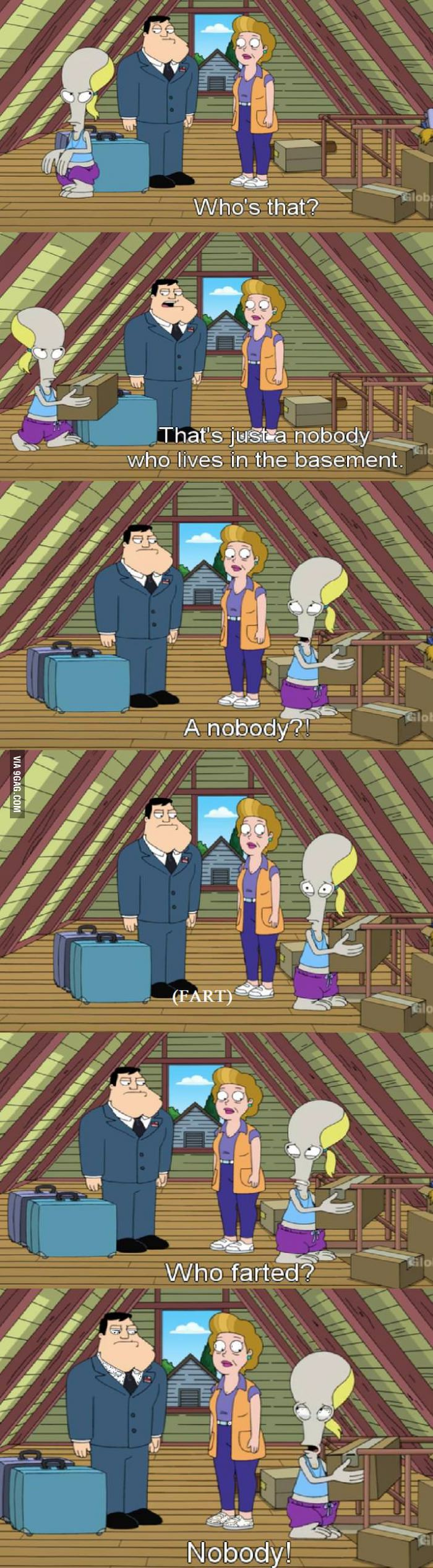 Just Roger American Dad Roger American Dad Tv Shows Funny