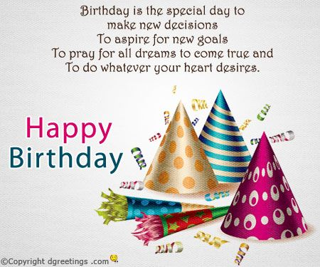 Birthday messages for cards bday Pinterest – Happy Birthday Card Message