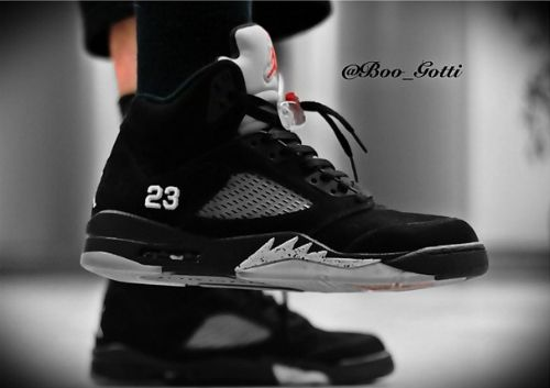 cheap for discount 4d4b7 d9477 Air Jordan 5's Black/silver | Shoes | Shoes, Jordans, Adidas ...