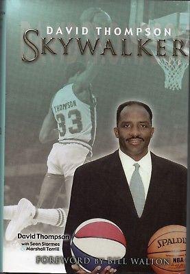 Skywalker (2003) by David Thompson *SIGNED* - NBA HOFer #davidthompson