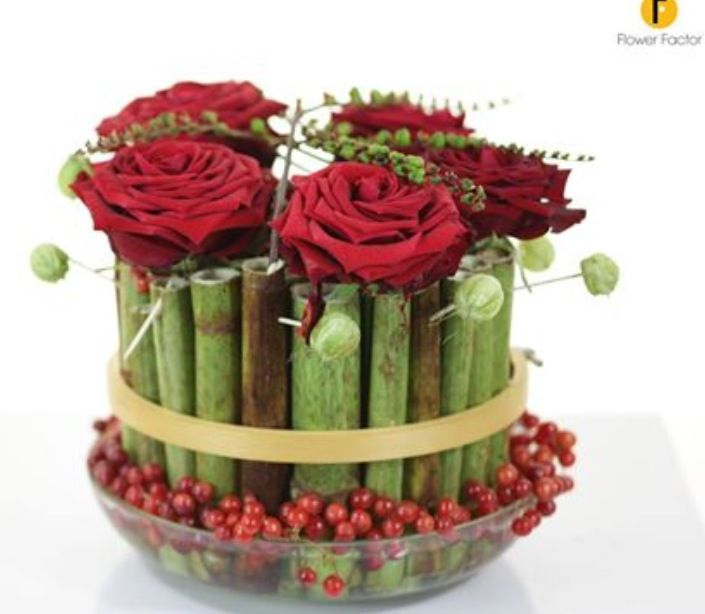 Great use of hollow stems!!