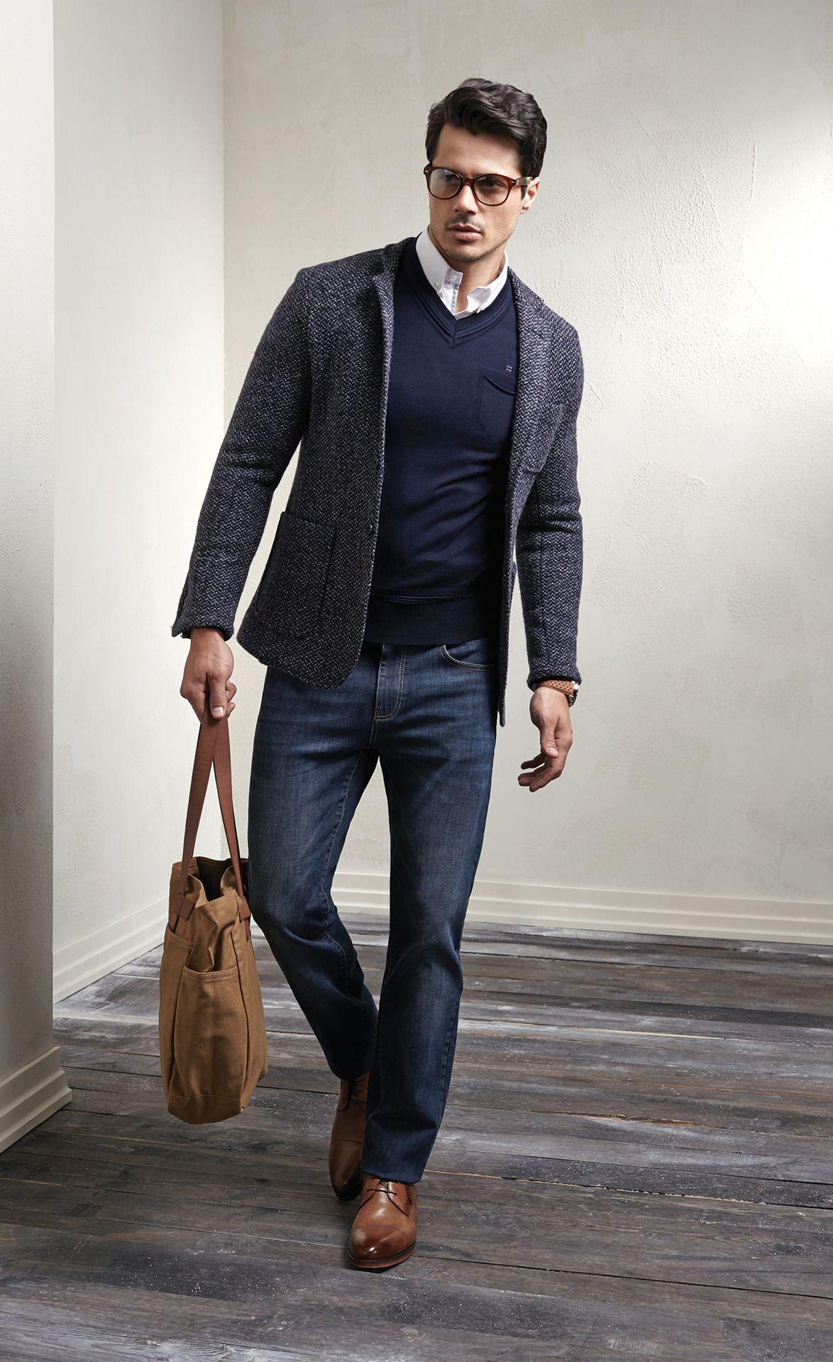Modern dress casual - 23 Hombres Guapos Con Anteojos Que Van A Satisfacer Todas Tus Fantas As