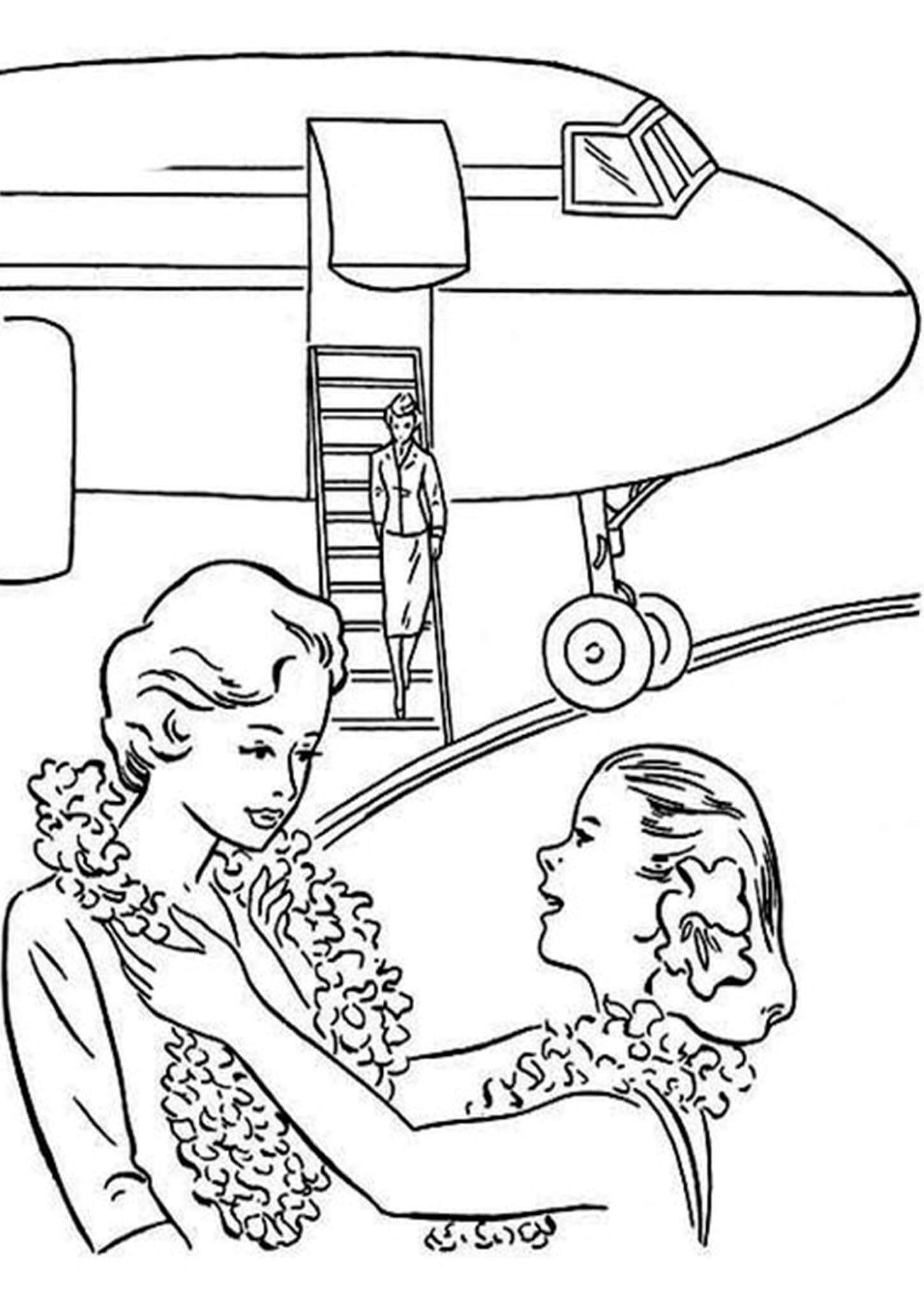 Free Easy To Print Airplane Coloring Pages Airplane Coloring Pages Coloring Pages Cars Coloring Pages