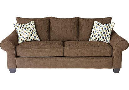 Stretch Out Day Or Night On The Versatile Park Brooke Sleeper Sofa Upholstered In Cozy