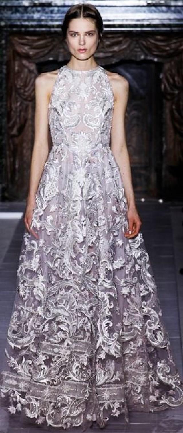 Valentino - Haute Couture Spring 2013 gray | schöne Kleider ...