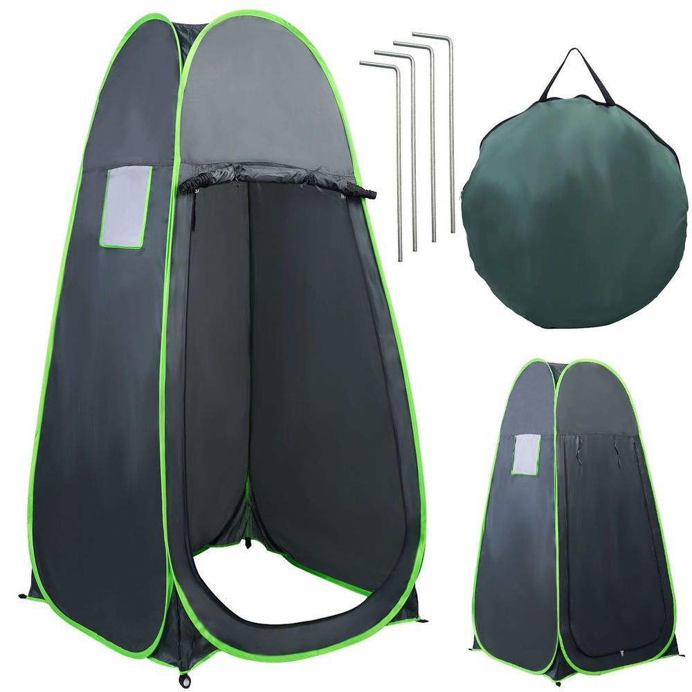 Portable Pop UP Camping Fishing Bathing Shower Toilet Changing - Closet ideas for tent camping