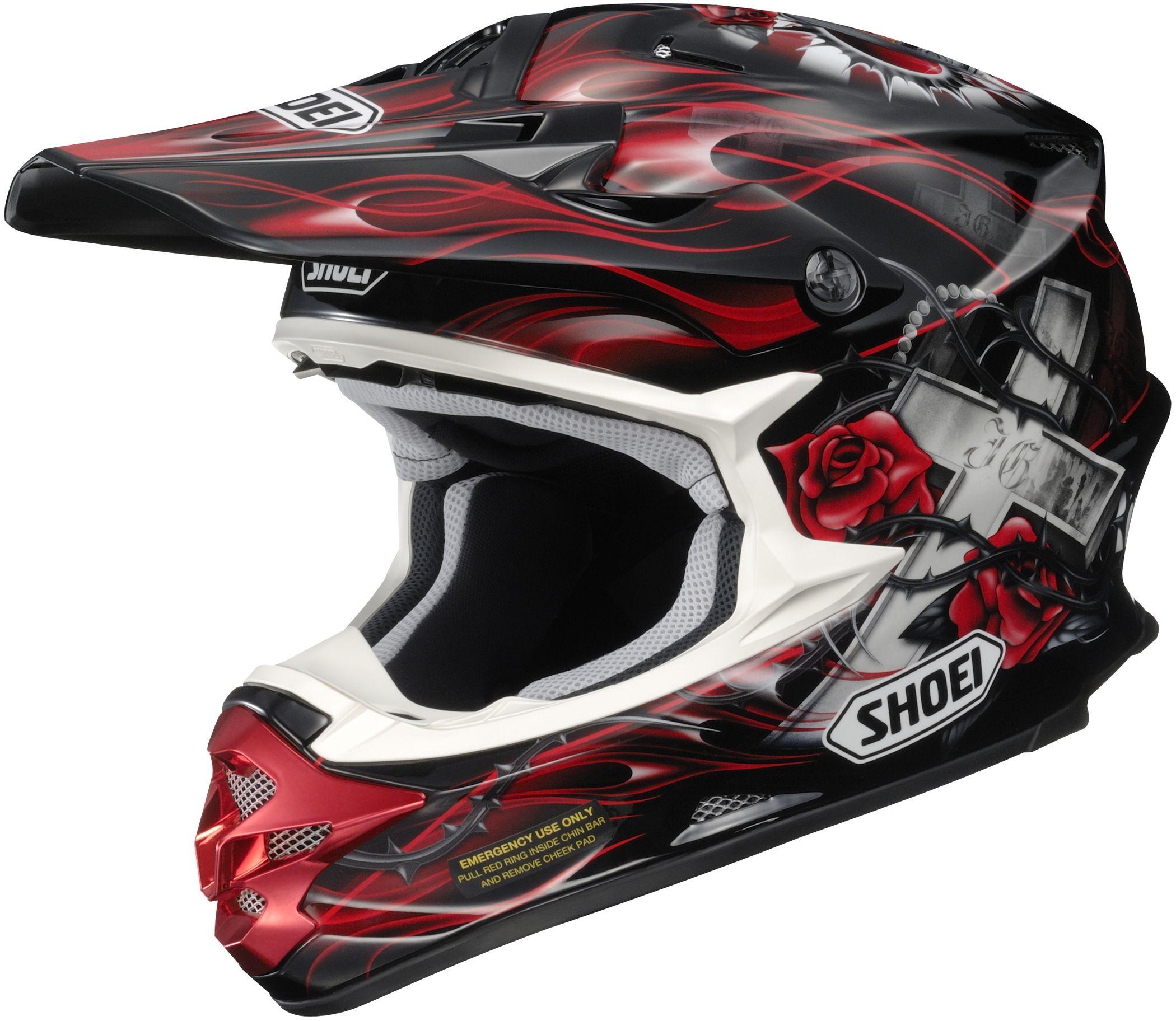 Shoei VFXW Grant Offroad Motorcycle Helmet http//www