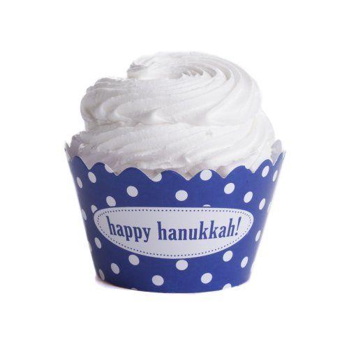 Dress My Cupcake Personalized Message Cupcake Wrappers, Polka Dot, Happy Hanukkah, Set of 50 Dress My Cupcake http://www.amazon.com/dp/B00ALRWR94/ref=cm_sw_r_pi_dp_wRXHub0XHMXSZ
