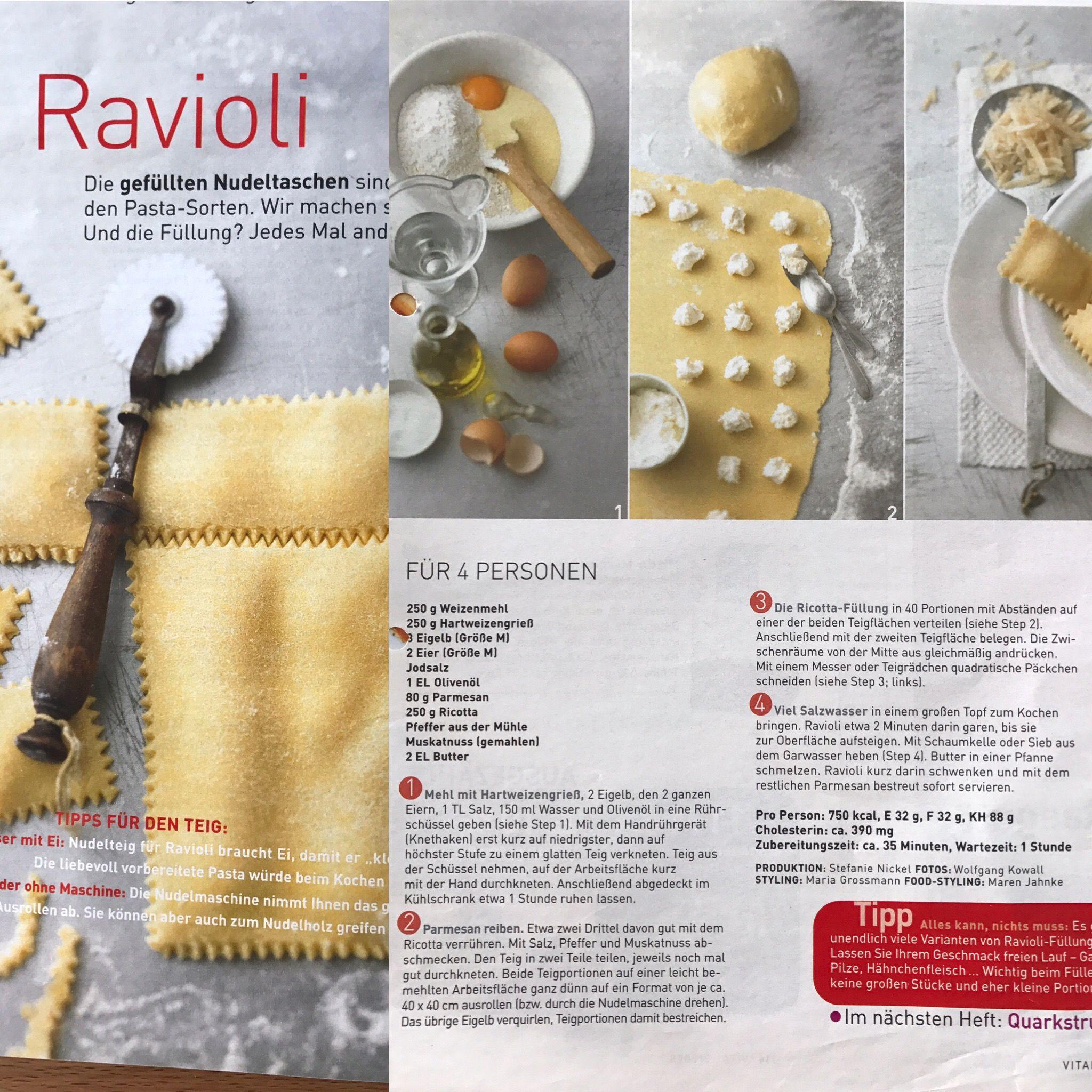 Idee Von Julies World Auf Cooking Nudel Ricotta Teig