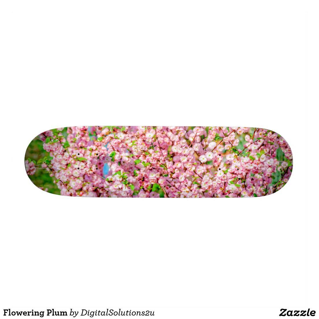 Flowering Plum Skateboard