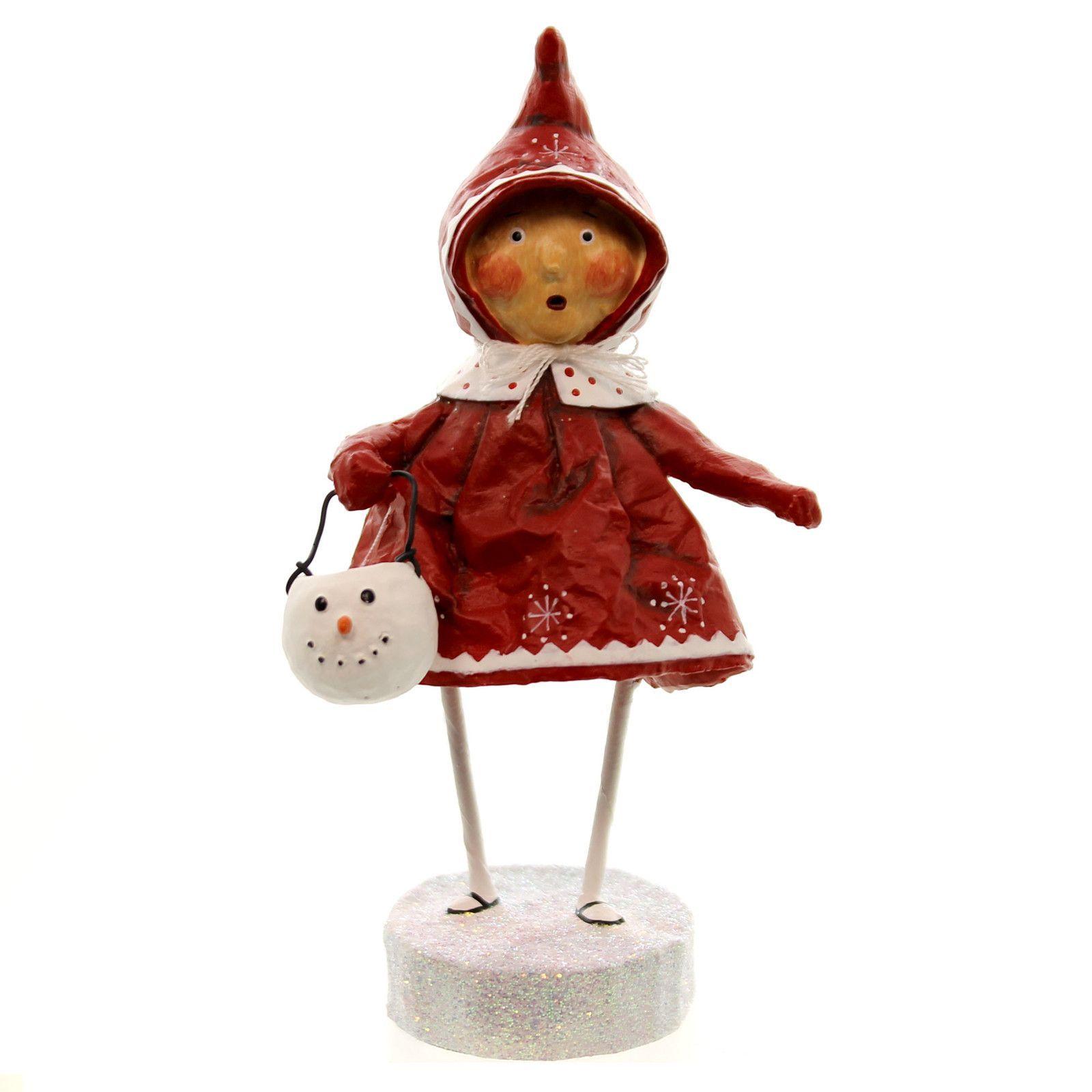 Bundled Up Brenna Christmas Figurine