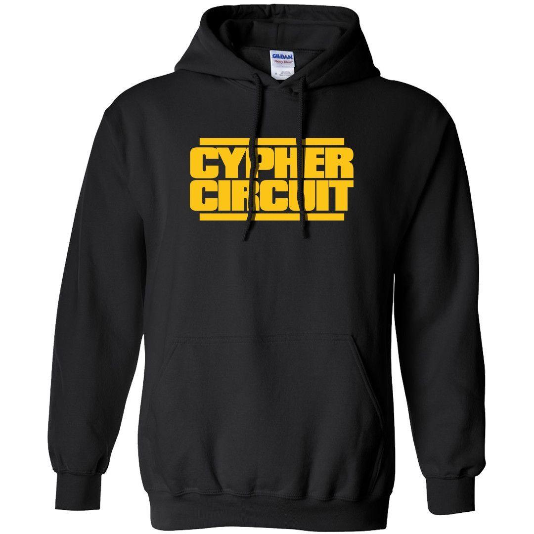 Cypher Circuit: Logo Hooded Sweatshirt