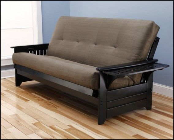 wooden frame futon sofa bed - Wood Frame Futon With Mattress