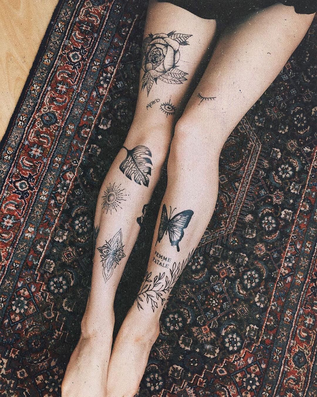 """Knee Tattoo Ideas : tattoo, ideas, Tattoos, Ideas, Instagram:, """"Tag, Someone, Loves, 😍..., Effective, Pictures, Offer, About, Tat…, Tattoos,, Tattoo,, Women"""