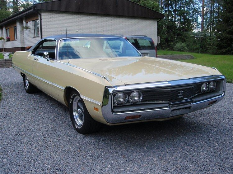 1969 Chrysler Newport 1969 Chrysler Newport Pyhajarvi Owned