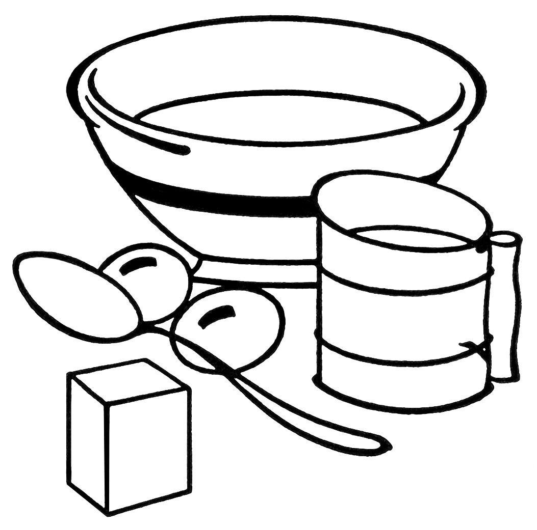 White apron clipart - Old Design Shop Free Digital Image Vintage Baking Clipart