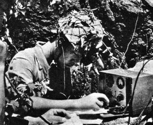 IJA radio operator Saipan Island 1944 World at War