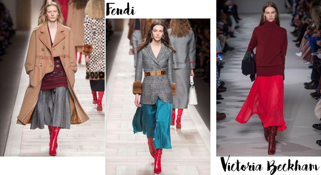 6242cd2547 Tendenze moda autunno inverno 2017-18, colore rosso | fashion e ...