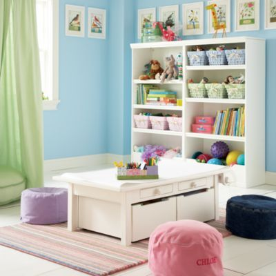 Such a lovely activity table for kids One day Mia may have this