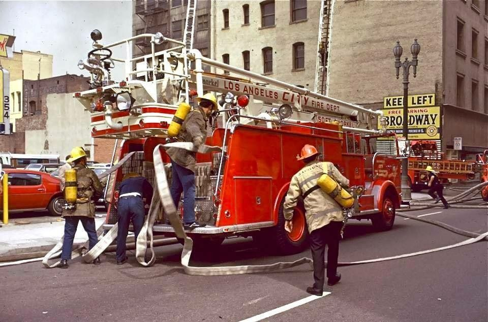 Lafd 50 39 snorkel vintage fire apparatus pinterest for Department of motor vehicles west haverstraw ny