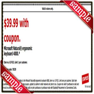 photo about Staple Printable Coupons called Staples Printable Coupon December 2016 Printable Correct