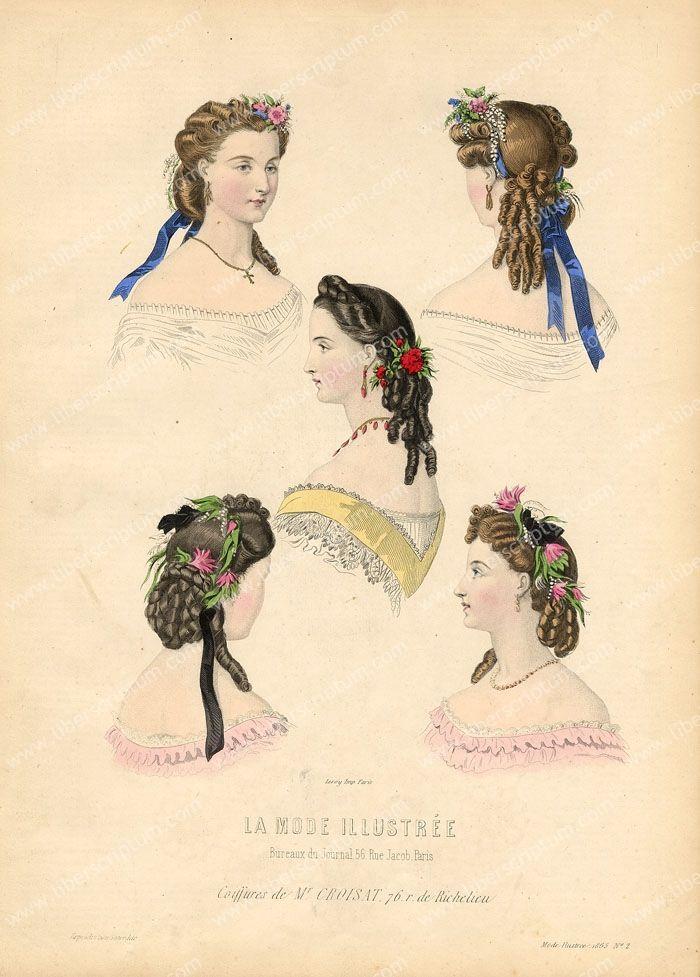 coiffure de monsieur croisat rue de richelieu 1860