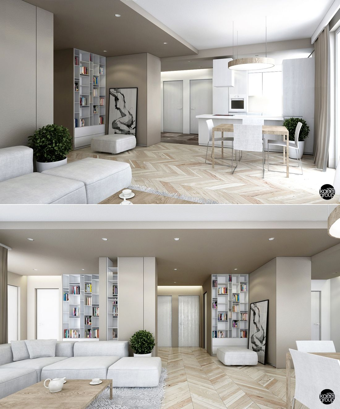 23 open concept apartment interiors for inspiration ceilings