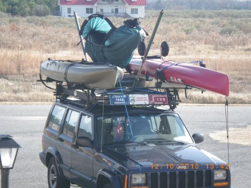 Medium image of byer hammock stand on a roof rack