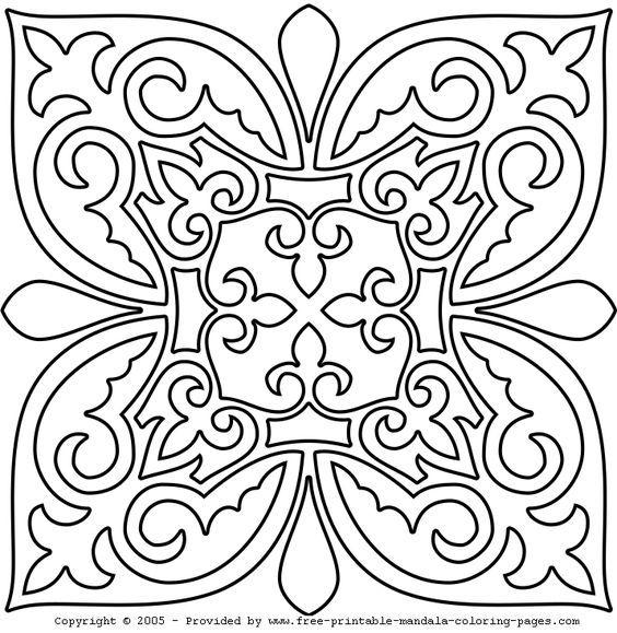 Resultado De Imagem Para Riscos Para Mandalas Ausmalbilder Mandala Ausmalen Mandala Malvorlagen