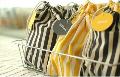 fun bags - fabric from ikea