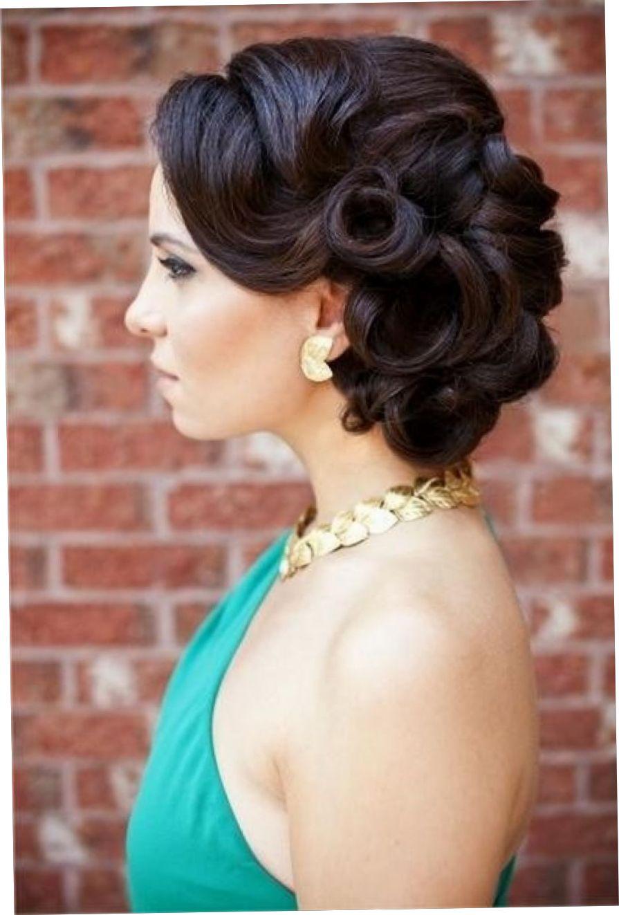 vintage wedding updo hairstyles   wedding ideas in 2019