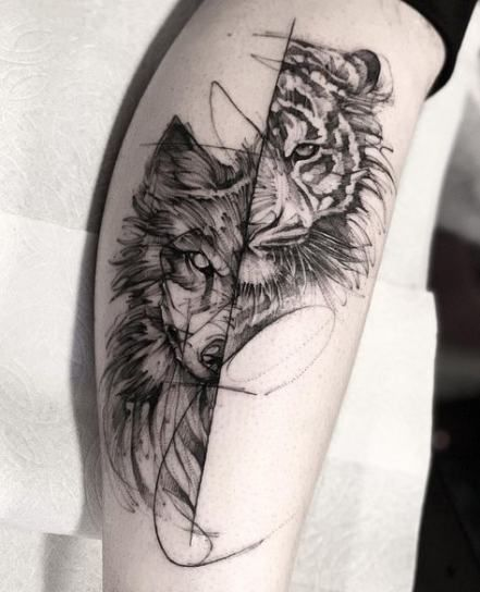 Photo of Super tattoo wolf color awesome 23 Ideas