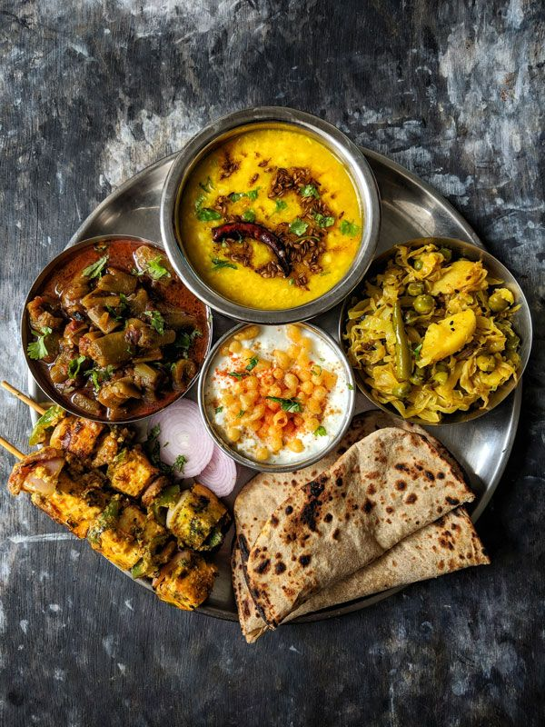 10 Indian Thali Meal Ideas | Indian Food Recipes - Fun FOOD Frolic