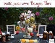 Backyard #Bbq #Ideas #Burger #Bar #66 #Ideas # #backyard