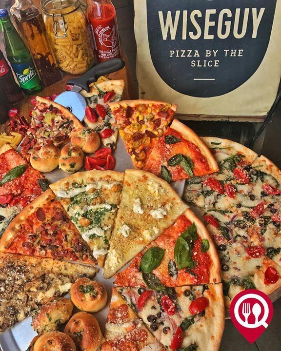 Wiseguy Pizza çekilişi Pizza çeşitleri Sarımsaklı Ekmek Wiseguy