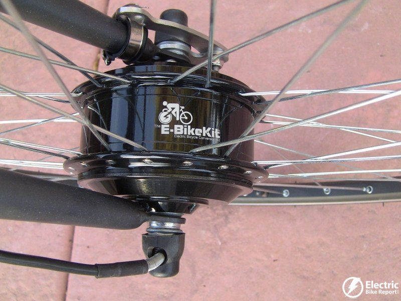The 350 Watt 450 Peak Geared Front Hub Motor Best Electric Bikes