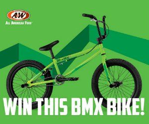 Win a BMX Bike or Mountain Dew & A&W Summer Prize Packs