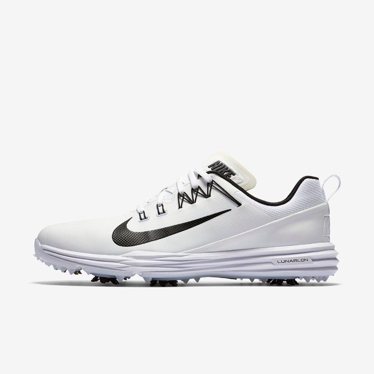 15c79de3b612e7 Nike Lunar Command 2 Golf Shoe - White Black