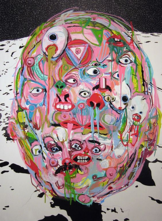 Alexander Paulus Grotesque Paintings Are Straight Out Of A