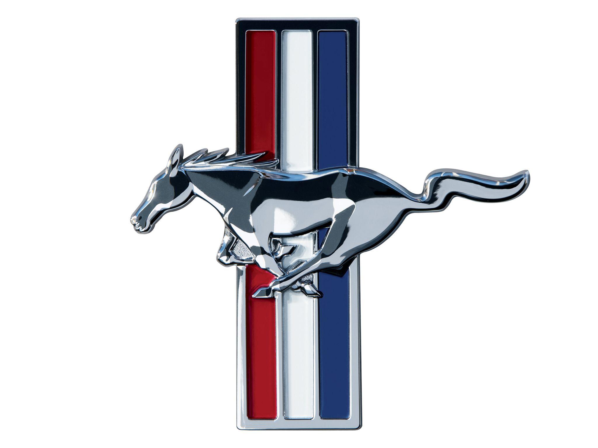 Mustang Logo Wallpaper WallpaperSafari Ford mustang